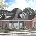 Eplans Low Country House Plan Three Bedroom Cracker Square