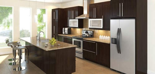 Eurostyle Prefabricated Kitchen Cabinets