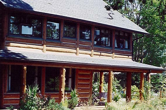 Exterior Finishes For Log Homes Store Supplies Home