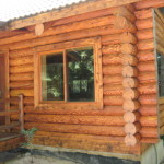 Exterior Log Home Stain Should Long Way Protecting Your