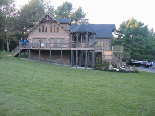 Extreme Makeover Home Edition Cedar Log Katahdin