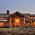 Featured Handcrafted Log Home Jackson Wyoming