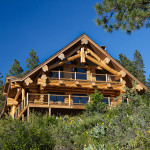 Featured Handcrafted Log Home Leavenworth Washington