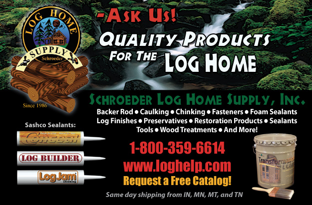 Featured Log Home Supply Company Schroeder Inc