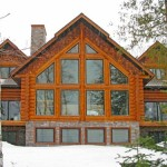 Featured Log Home Timber Wolf Construction Custom