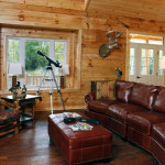 Field Stream Magazine Cabin The Year From Log Homes
