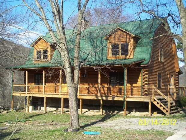 Fine Quality And Workmanship This Log Home