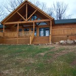 Finished Log Homes Brenwood Cabins Daniel Boone Gallery