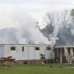Firefighters Extinguish Mobile Home Fire Sunday Sept