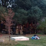 Firefighters Salvage Belongings Mobile Home Freeman Way
