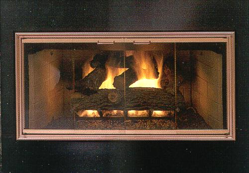 Fireplace Door For Prefabricated Zero Clearance Fireplaces Design