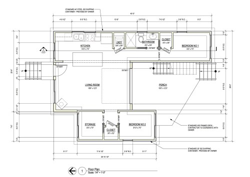 Floor Plan Copyright One Studio Architecture