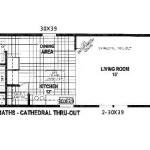 Floor Plans For Single Wide Manufactured Homes