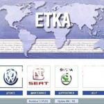 For Audi Skoda Seat Etka Spare Parts Catalogue And