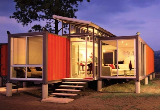 For Houses And Buildings Made Shipping Containers Which Are Cheap
