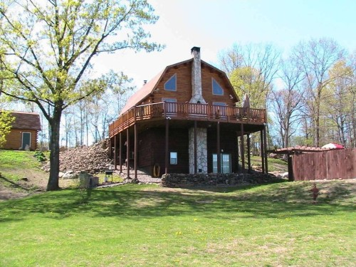 For Sale Hudson New York United States Upstate Log Home