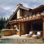 Frame Home Located Sun Valley Precisioncraft Timber