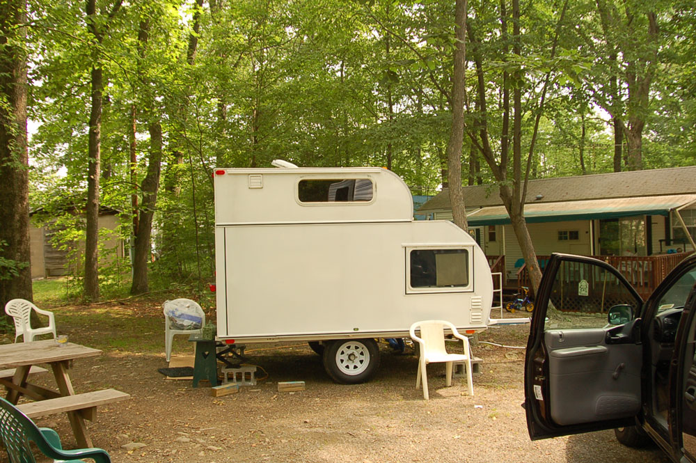 Free Camper Trailers Plans Woodworkersworkshop