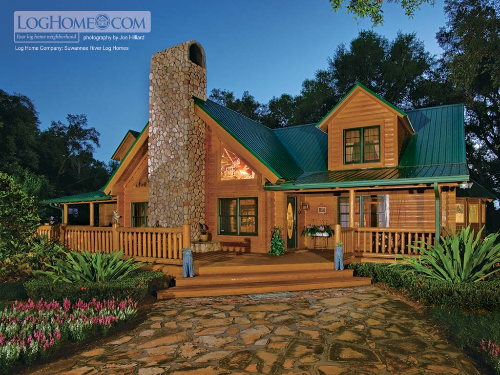 Free Log Homes Pic The