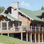 Frontier Homes Inc The Shoshone Loghome