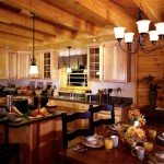 Full Log Homes Designs Wooden Interiors Home Design Ideas