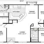 Fuller Modular Homes Caroline Home Floor Plan