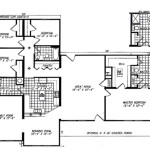 Fuller Modular Homes Evergreen Home Floor Plan