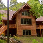 Gallery Harbor Springs Log Hybrid Ski Retreat Home