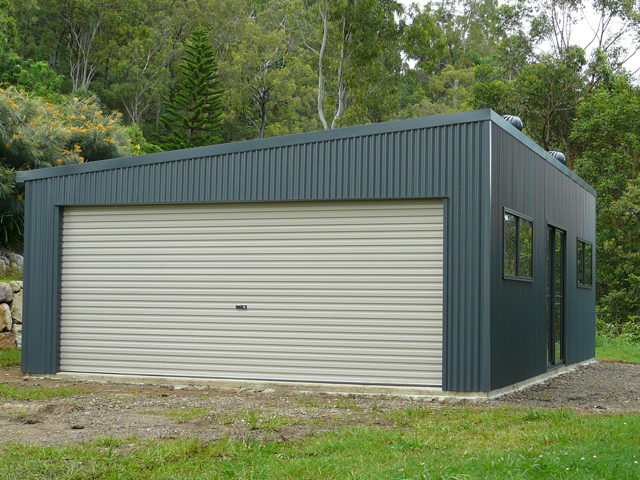 Gallery The Shed Company Gold Coast Skillion Roof Garage