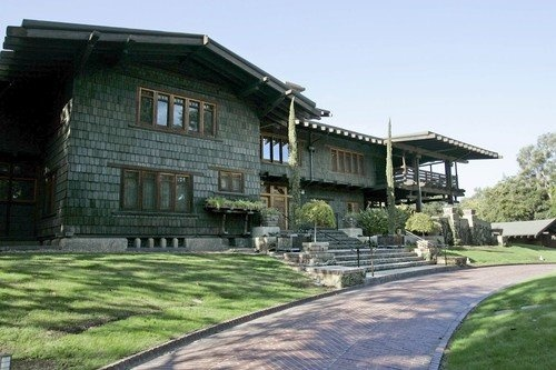 Gamble House Charles And Henry Greene Pasadena One The