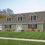 Georgetown Mannorwood Homes Cape Cod Floorplan