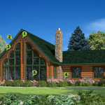 Golden Eagle Log Homes Maintenance Free Home Options