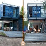 Great Example How Four Shipping Containers Can Turned Into Low