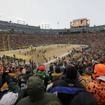 Green Bay Packers Players Are Introduced The Field Before Nfl