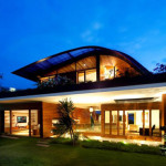 Green Living Houses Home Size