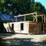 Green Mountain Timber Frames Vermont Hand Hewn Log Home
