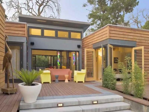 Green Prefab Home Design Ideas Amzing Layout