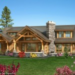 Greystone Log Home Pictures