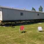 Groundhog Anchors Used Support And Tie Down Mobile Home