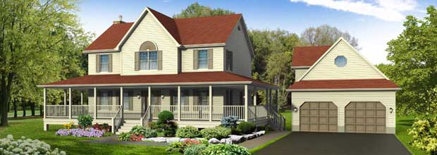 Guildcrest Homes Heritage House Two Storey Modular Home Floor Plans