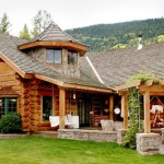 Handcrafted Chink Style Log Home Built Caribou Creek