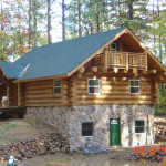 Handcrafted Heim Log Home Package
