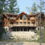 Handcrafted Log And Post Beam Homes