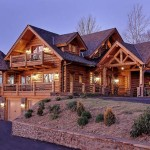 Handcrafted Log Home Beautiful Everything