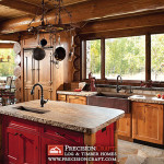 Handcrafted Log Home Kitchen Flickr Sharing