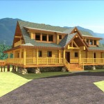 Handcrafted Log Home Plans Oklahoma Floors