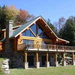 Handcrafted Log Homes Vermont House Builder Mountain Logworks