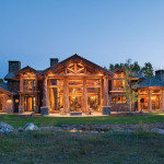 Handcrafted Log Homes Wyoming Home
