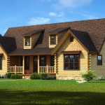 Harmony Log Home Cabin Plans Southland Homes