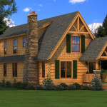 Haven Log Home Cabin Plans Southland Homes